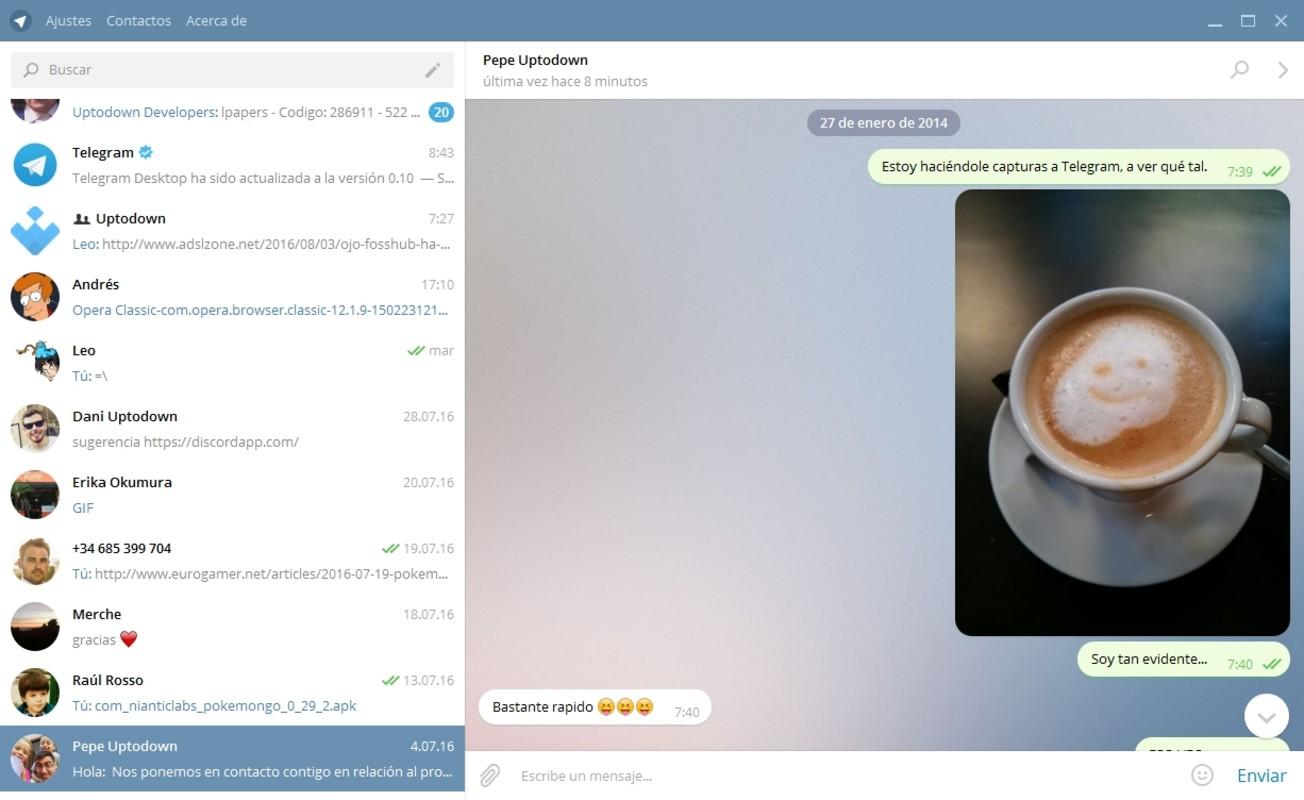 تليغرام للويندوزTelegram for Desktop