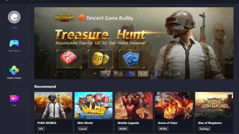 GameLoop محاكي Pubg TencentGameAssistant