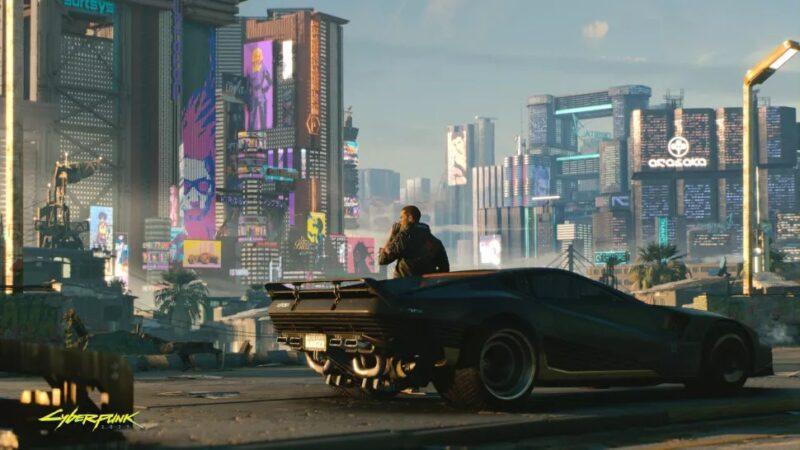 تم تسريب الخريطة الكاملة لـ Cyberpunk 2077's Night City