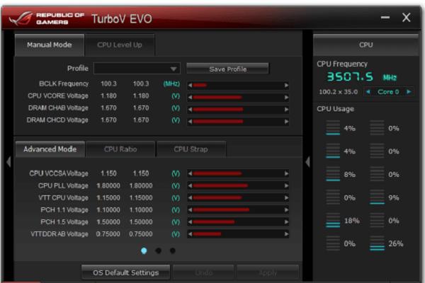 تحميل برنامج ASUS TurboV EVO لمعالجة مازر بورد الحاسوب برابط مباشر