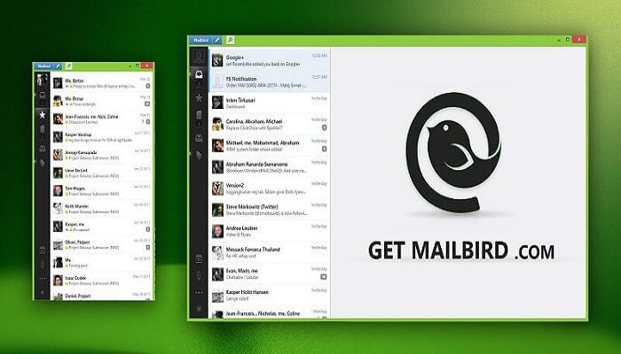 تحميل برنامجMailbird لإدارة جميع الإيميلات الشخصية للكمبيوتر