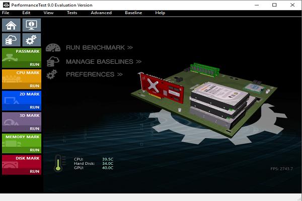 تحميل برنامج PerformanceTest لفحص وتقييم أداء الكمبيوتر برابط مباشر