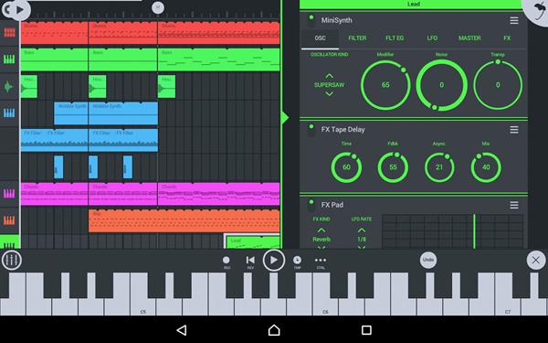 افضل تطبيقات صناعة الموسيقى للاندرويد 2021
