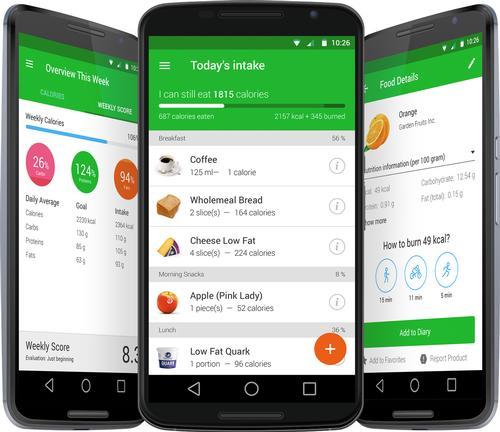 افضل تطبيقات تساعدك على نظام غذائي صحي 2021