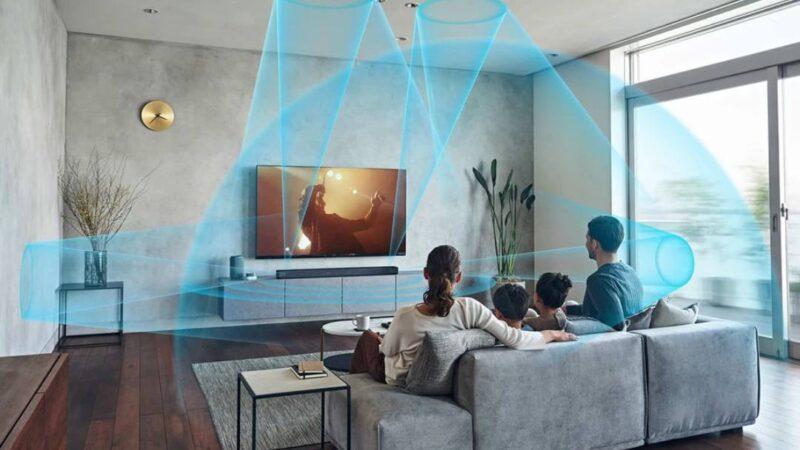 ساوند بار Sony HT-A7000 يقدم جودة 7.1.2 قناة للسينما المنزلية لديك