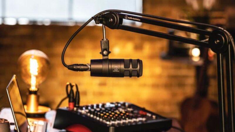 ميكروفون Audio-Technica AT2040 مُصمّم خصيصاً لمُنشئي المحتوى والبودكاست