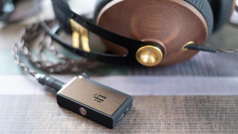 معالج ومضخم الصوت iFi GO blu مثالي للاستماع السلكي وعبر البلوتوث